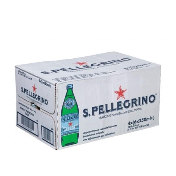 San Pellegrino - Apa carbogazoasa 24 buc. x 0.25L - sticla