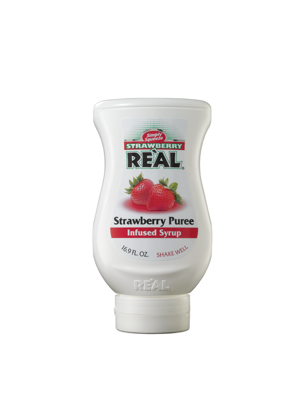 Real - Piure Strawberry 0,5L