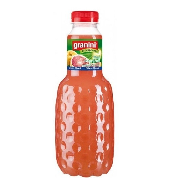 Granini - Juice pink grapefruit 6 buc. x 1L - PET