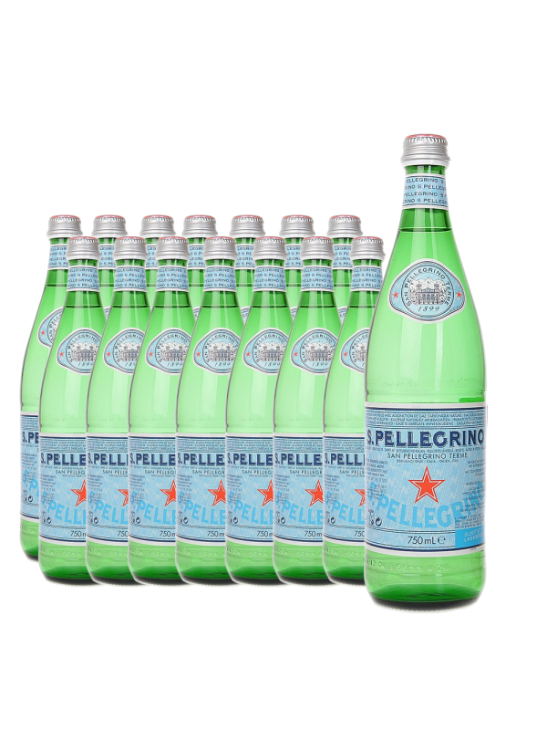 San Pellegrino - apa carbogazoasa 15 buc x 0,75L - sticla