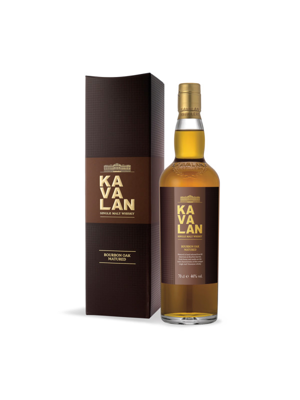 Kavalan - Ex Bourbon Oak - Taiwan Single Malt Whisky GB - 0.7L, Alc: 46%