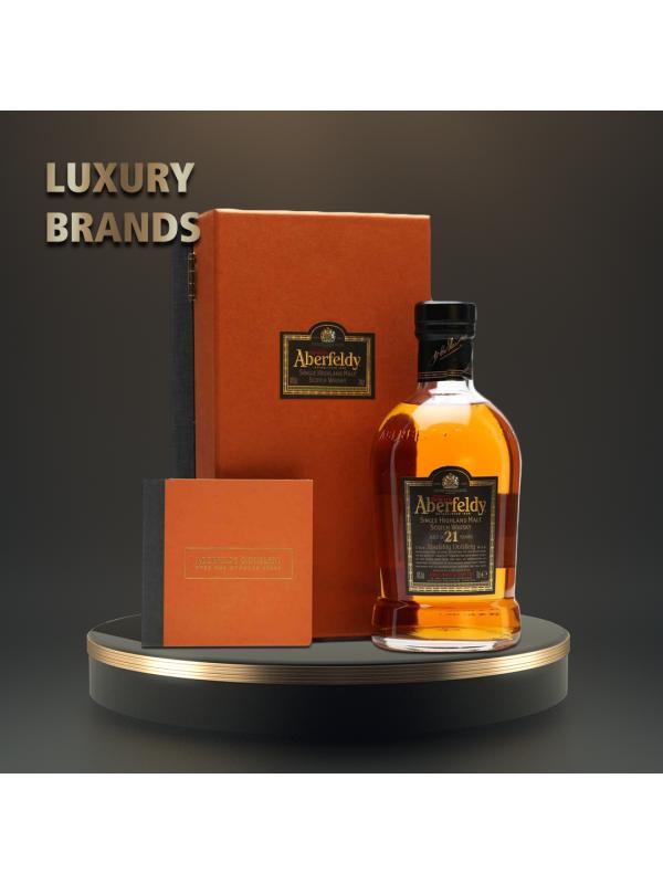 Aberfeldy - Scotch Single Malt Whisky 21 yo - 0.7L, Alc: 40%