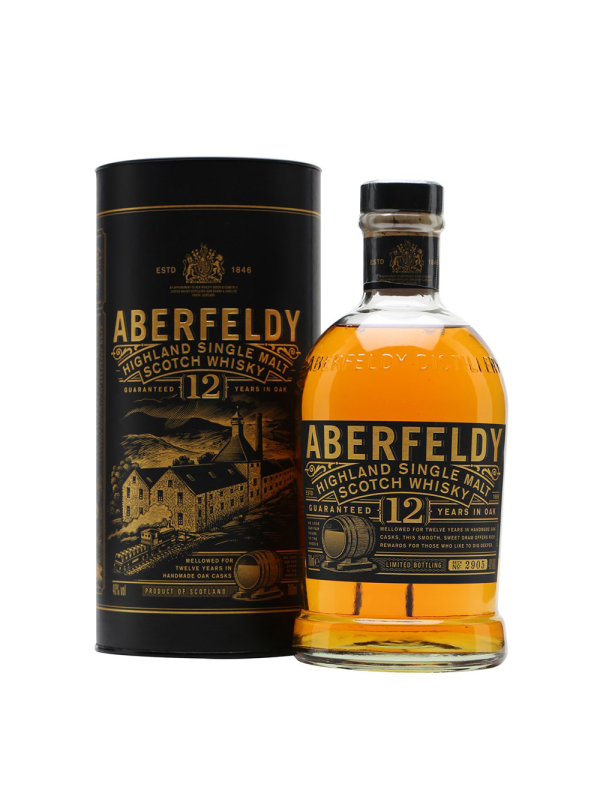 Aberfeldy - Scotch Single Malt Whisky 12 yo - 0.7L, Alc: 40%