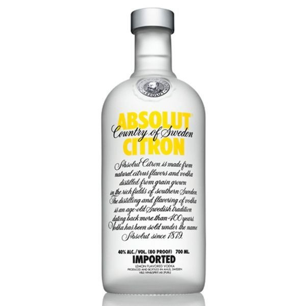 Absolut citron 0.7 L