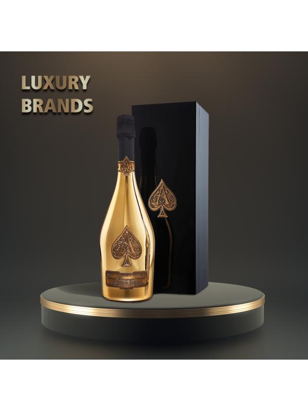 Armand de Brignac - Sampanie Brut Gold bottle gb - 0.75L, Alc: 12.5%