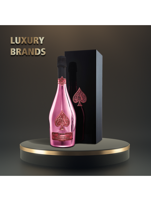 Armand de Brignac - Sampanie Brut Rose Gift Box - 0.75L, Alc: 12.5%