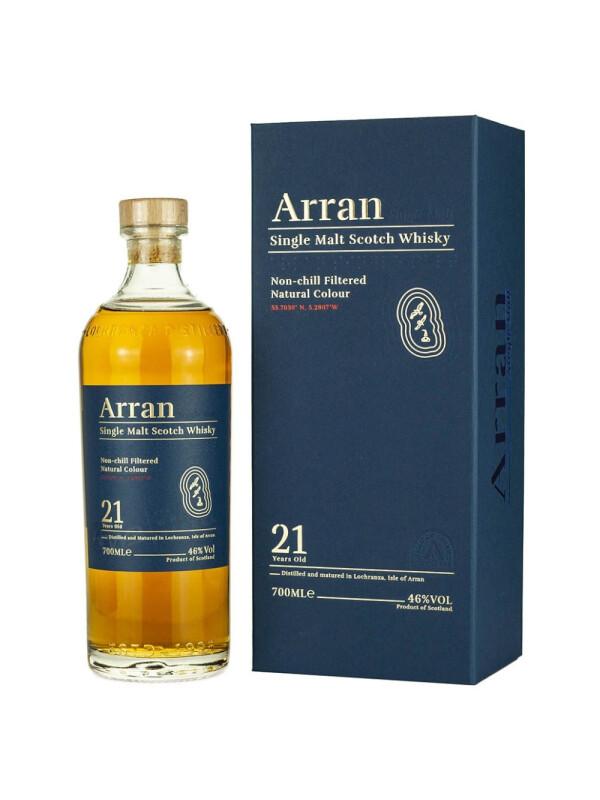 Arran - Scotch Single Malt Whisky 21 yo GB - 0.7L, Alc: 46%