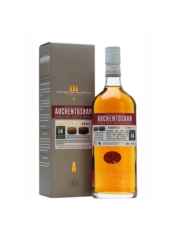 Auchentoshan - Scotch single malt whisky Cooper's Reserve 14yo - 0.7L, Alc: 46%