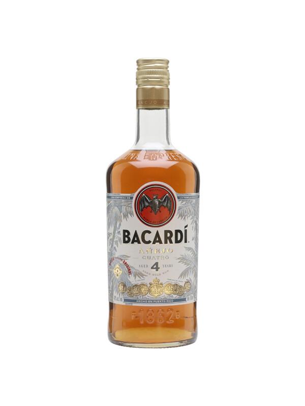 Bacardi - Rom Anejo Cuatro - 0.7 L, Alc: 40%