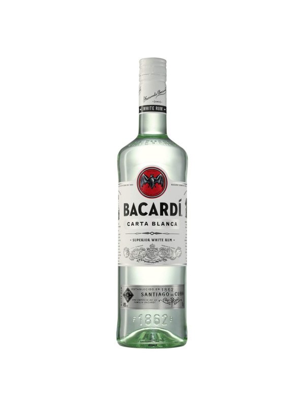 Bacardi - Rom Carta Blanca - 1L, Alc: 37.5%