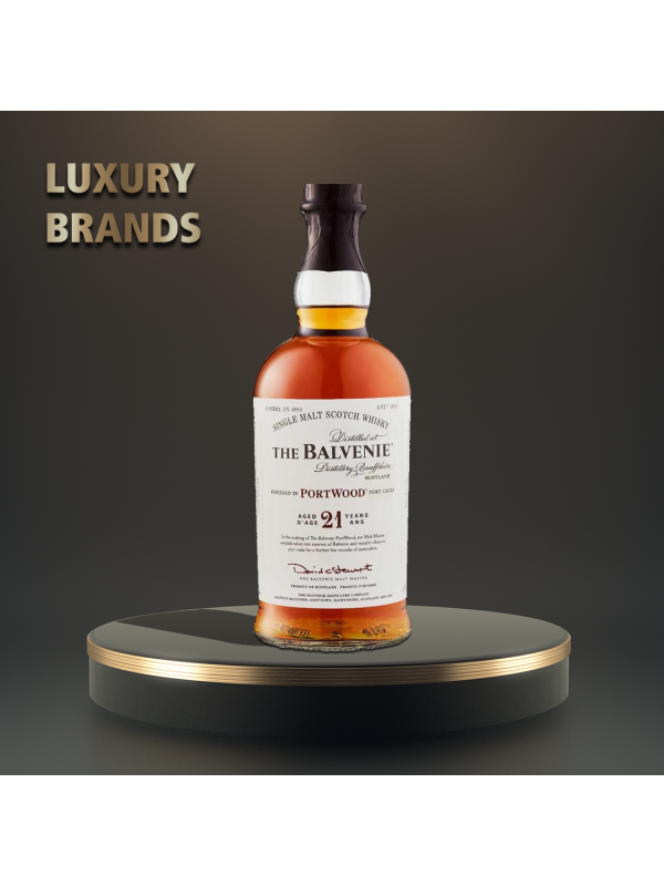 Balvenie - Scotch Single Malt Whisky 21 yo - 0.7L, Alc: 40%