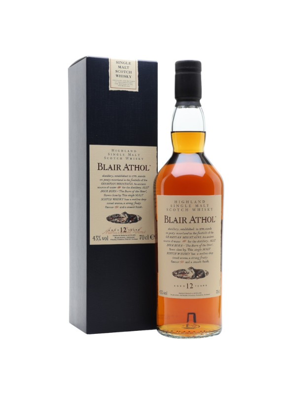 Blair Athol - Flora & Fauna Scotch Single Malt Whisky 12 yo GB - 0.7L, Alc: 43%
