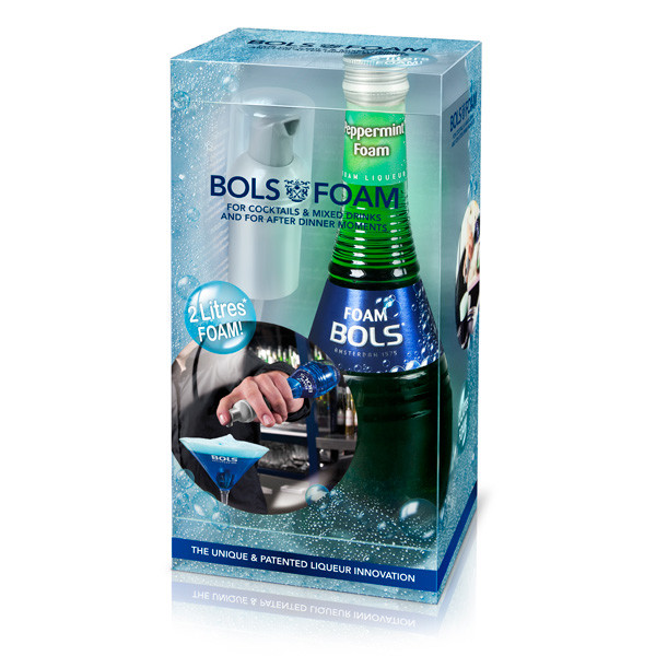 Bols - Foam Peppermint green - 0.2L, Alc: 24%