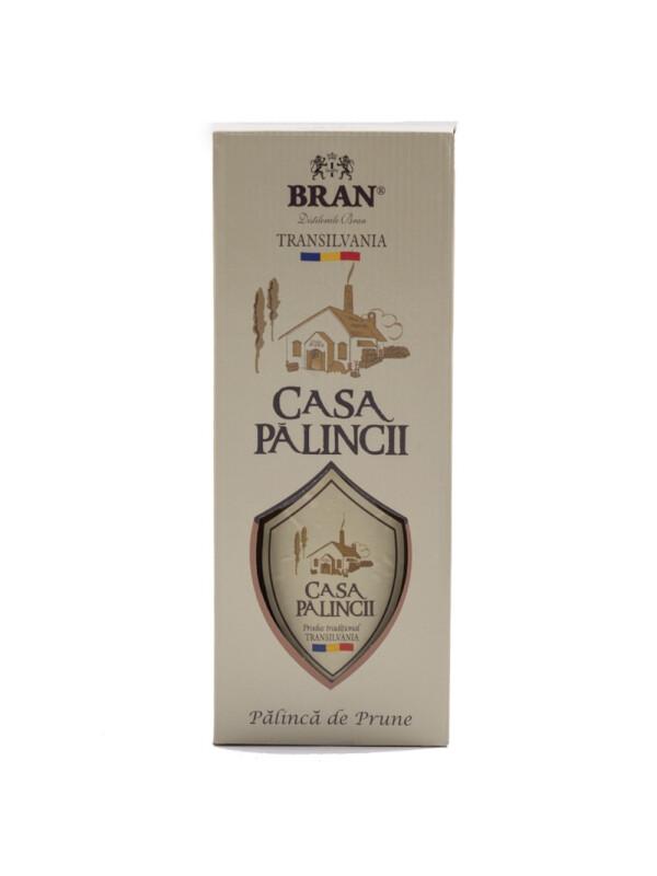 Bran - Palinca prune - Casa Palincii - 0.5L, Alc: 50%