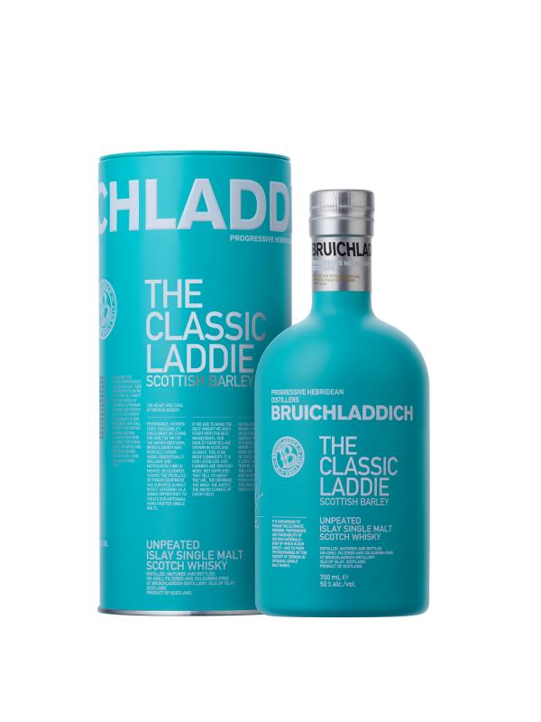 Bruichladdich - Classic Laddie Scotch single malt tin box - 0.7L, Alc: 50%