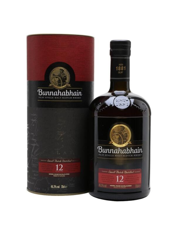 Bunnahabhain - Unchilfiltered Scotch single malt whisky - gb 12yo - 0.7L, Alc: 46.3%