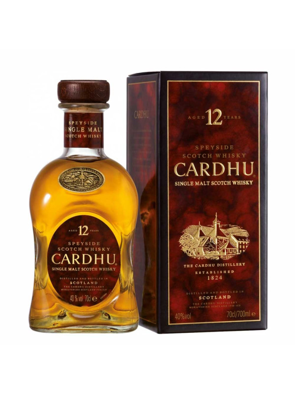 Cardhu - Scotch Single Malt Whisky 12 yo GB - 0.7L, Alc: 40%