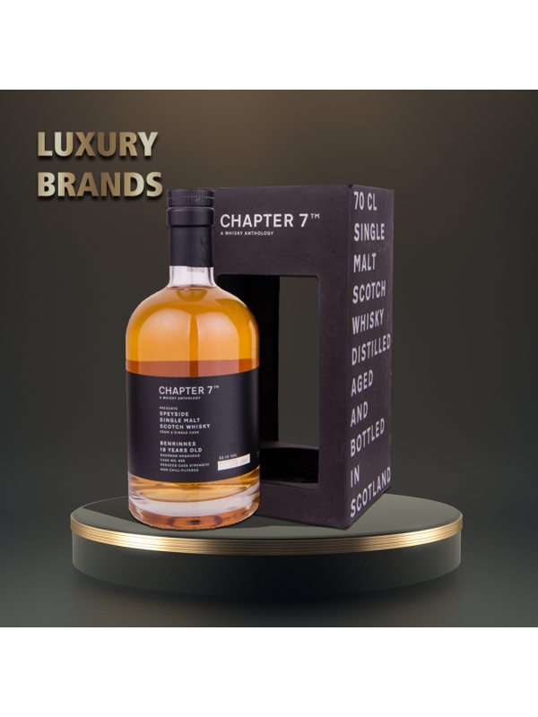 Chapter 7 - Benrinnes, Scotch single malt whisky 18y.o - 0,7L, Alc: 52.1%