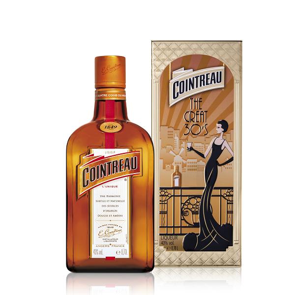 Cointreau - Lichior Tin Box - 0.7L, Alc: 40%