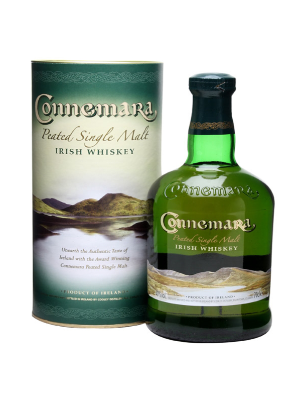 Connemara - Irish whiskey Peated single malt gb - 0.7L, Alc: 40%