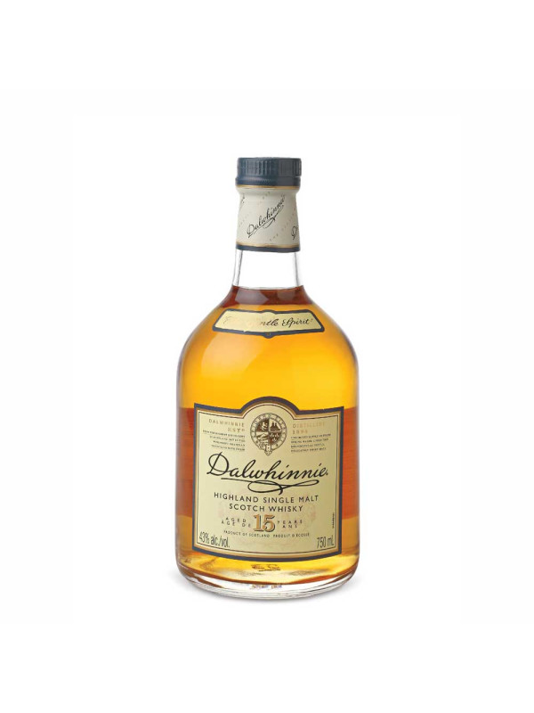Dalwhinnie - Scotch single malt whisky 15yo - 0.7L, Alc: 43%