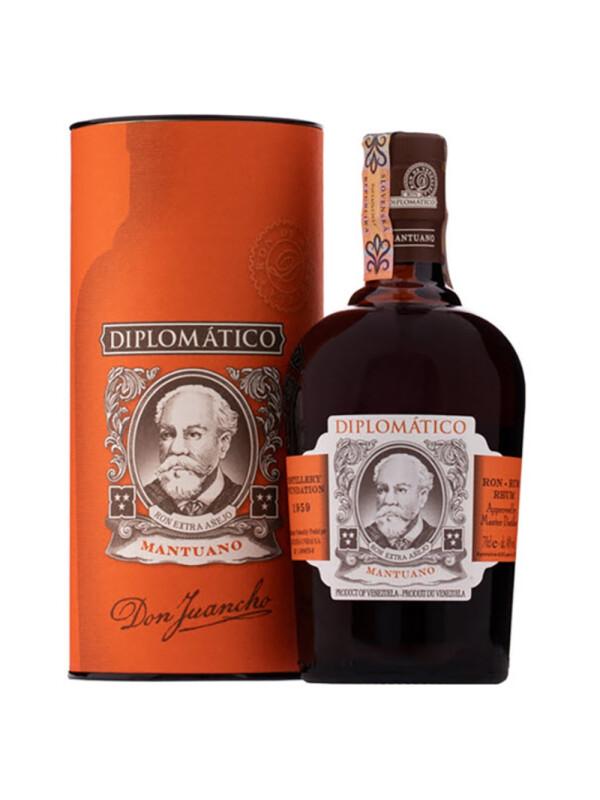 Diplomatico - Rom Mantuano Extra Anejo GB - 0.7L, Alc: 40%