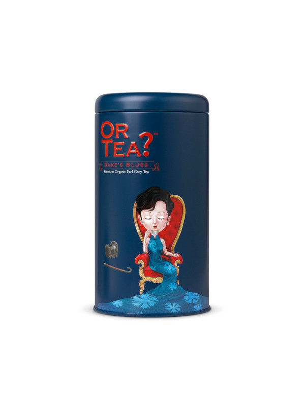 Or Tea? - BIO ceai Dukes Blues cutie metalica 100g