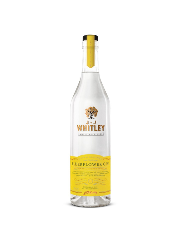 J.J. Whitley - Gin Elderflower - 0.7L , Alc: 40%