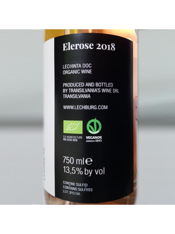 Lechburg - Elerose BIO 2018 - 0.75L, Alc: 13.5%