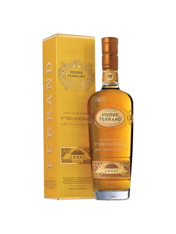 Pierre Ferrand - Ambre Cognac Gift Box - 0.7L, Alc: 40%