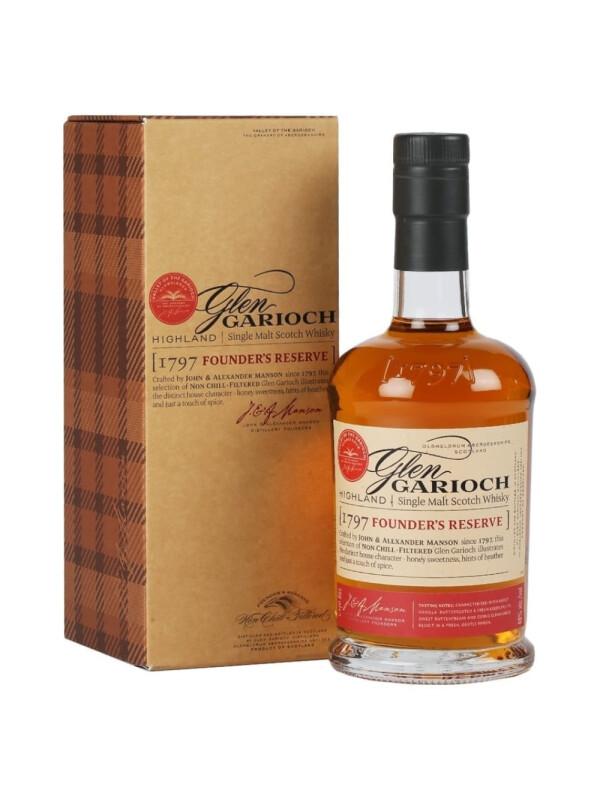 Glen Garioch - Scotch Single Malt Whisky Founder's Reserve GB - 0.7L, Alc: 48%