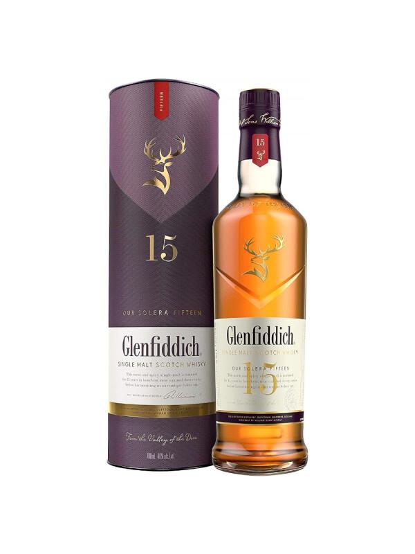 Glenfiddich - Scotch Single Malt Whisky 15 yo GB - 0.7L, Alc: 40%