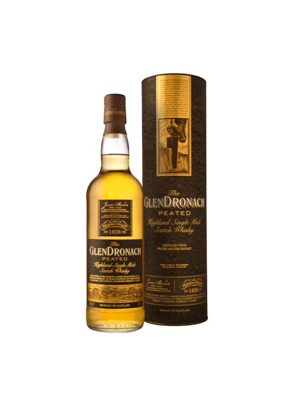 The Glendronach - Peated Scotch Scotch Single Malt Whisky GB - 0.7L, Alc: 46%