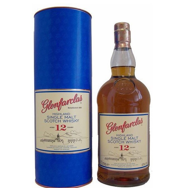 Glenfarclas - Scotch single malt whisky 12yo - 0.7L, Alc: 43%