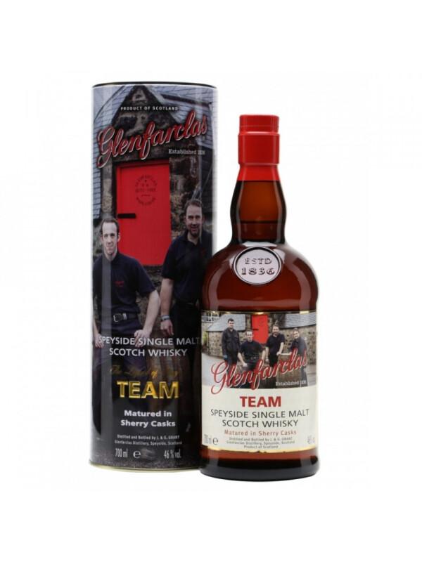 Glenfarclas - Team Scotch Single Malt Whisky GB - 0.7L, Alc: 46%