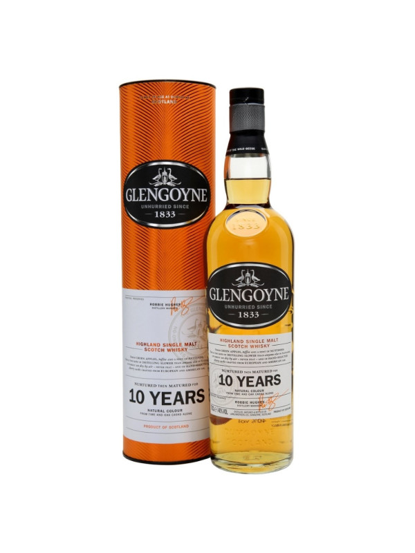 Glengoyne - Scotch Single Malt Whisky 10 yo GB - 0.7L, Alc: 40%