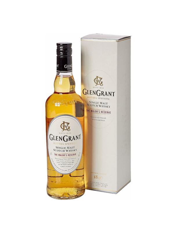 Glen Grant - Major's Reserve - Scotch single malt whisky - 0.7L