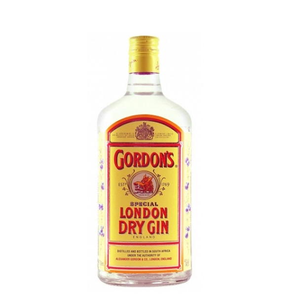 Gordon's - London dry gin - 0.5L, Alc: 47.3%