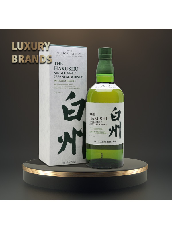 Hakushu - Japanese Single Malt Whisky Distiller's Reserve GB  - 0.7L, Alc: 43%