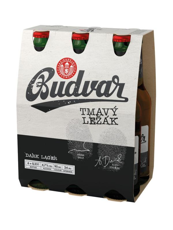 Budweiser Budvar - Bere Dark Lager 24 buc. x 0.33L - sticla, Alc: 4.7%