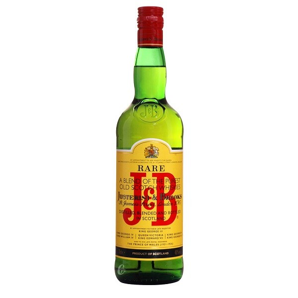 J & B Rare - Scotch Blended Whisky - 0.7L, Alc: 40%