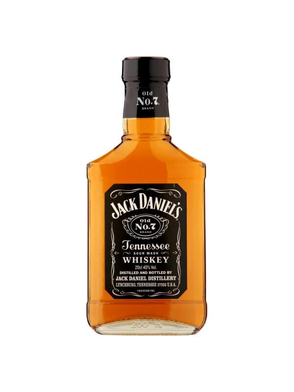 Jack Daniel's - Tennessee whiskey - 0.2L, Alc: 40%