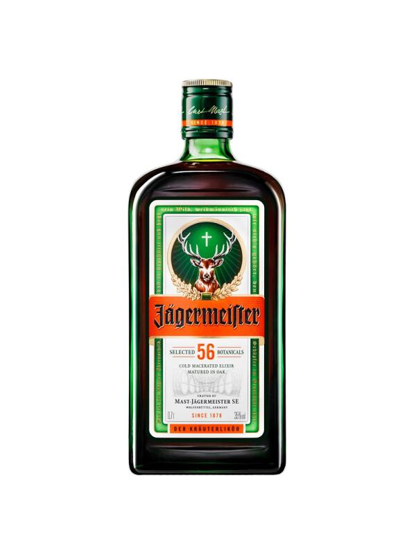 Jagermeister - herbal liqueur - 0.7L, Alc: 35%
