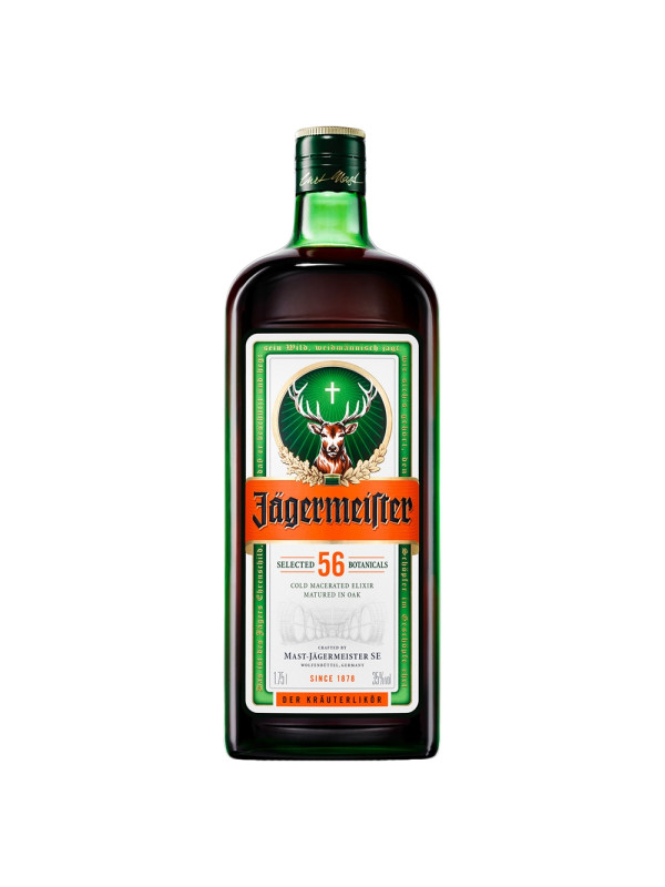 Jagermeister - herbal liqueur - 1.75L, Alc: 35%
