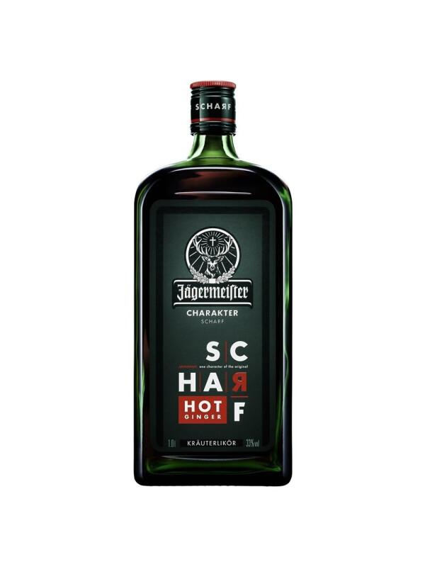 Jagermeister - herbal liqueur Scharf - 1L