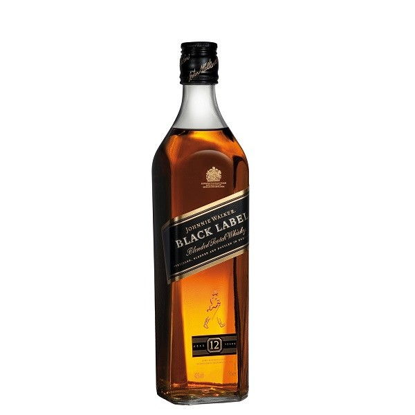 Johnnie Walker - Black Label Scotch Blended Whisky - 1L, Alc: 40%
