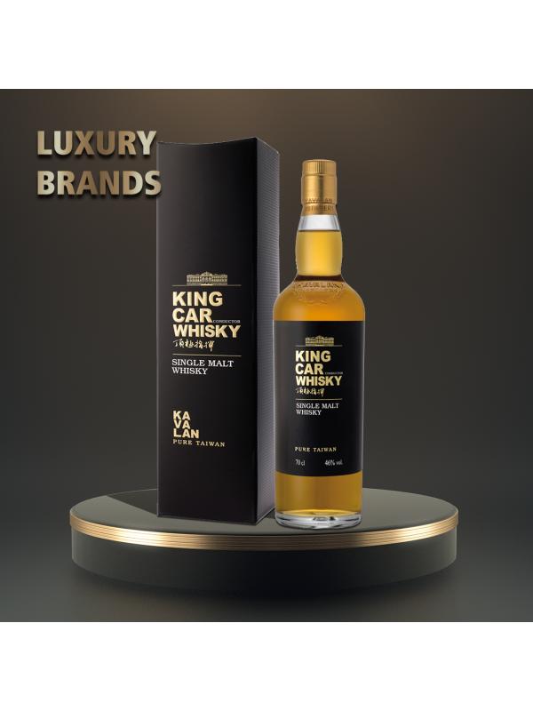 Kavalan - King Car - Taiwan Single Malt Whisky GB - 0.7L, Alc: 46%