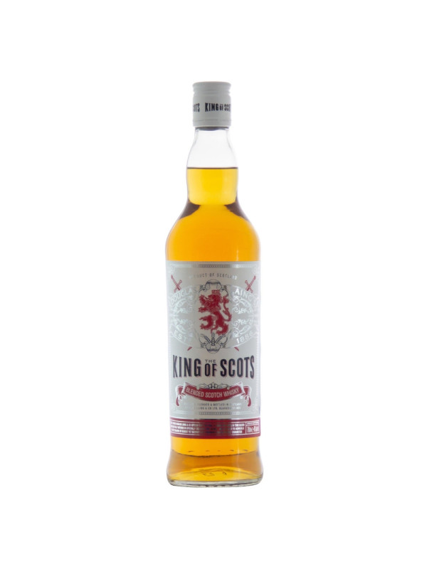 King of Scots - Scotch Blended Whisky 1L, Alc: 40%