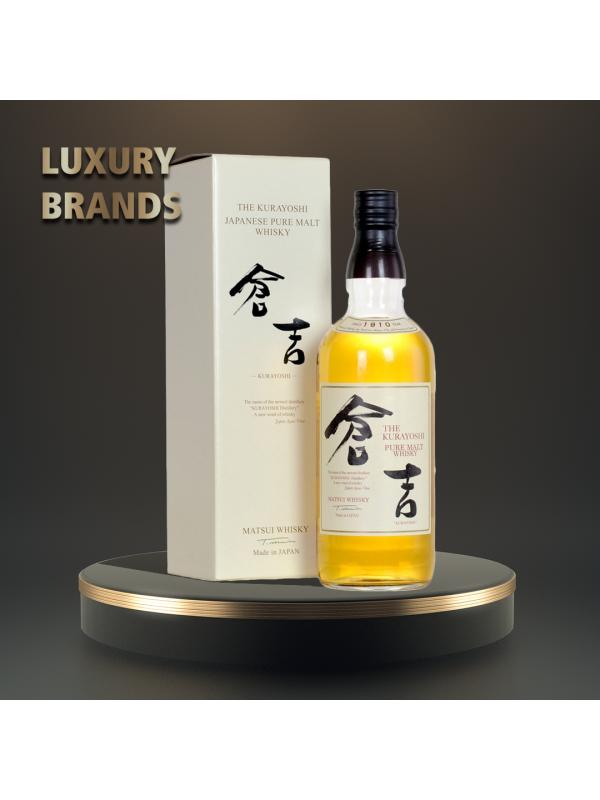 The Kurayoshi - Whisky pure malt - 0.7L, Alc: 43%
