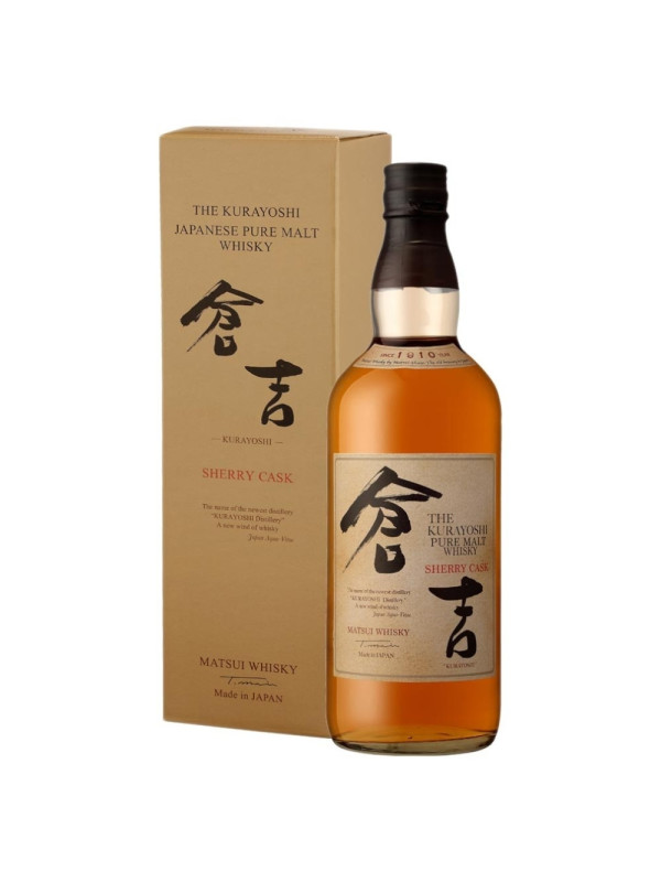 The Kurayoshi - Whisky pure malt sherry cask - 0.7L, Alc: 43%